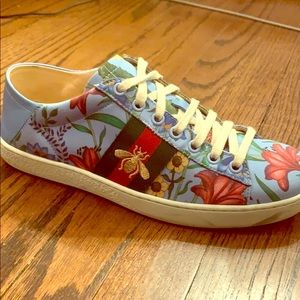 Gucci Ace Floral Sneaker